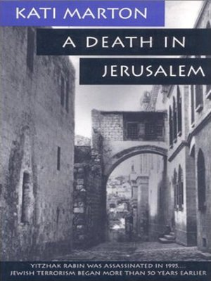 cover image of A Death in Jerusalem