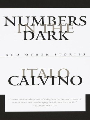 cover image of Numbers in the Dark
