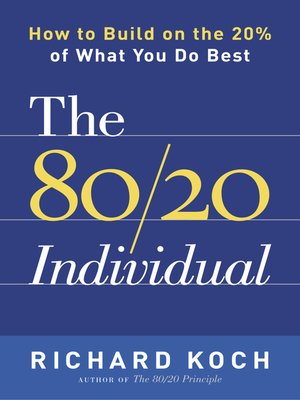 cover image of The 80 / 20 Individual