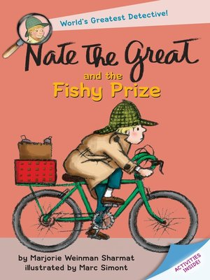 cover image of Nate the Great and the Fishy Prize