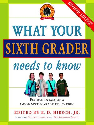 cover image of What Your Sixth Grader Needs to Know