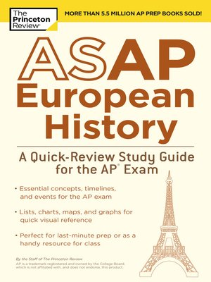 cover image of ASAP European History