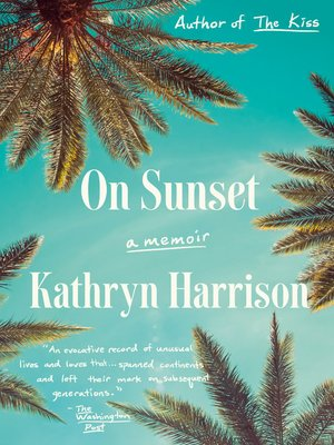 cover image of On Sunset