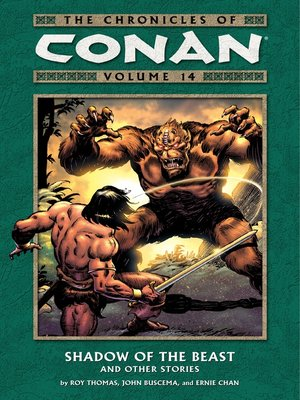 cover image of Chronicles of Conan, Volume 14