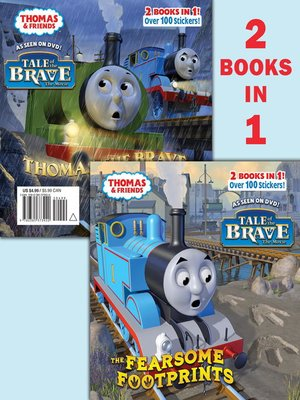 cover image of Thomas and the Fearsome Footprints/Thomas the Brave