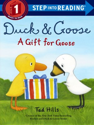 cover image of Duck & Goose, a Gift for Goose