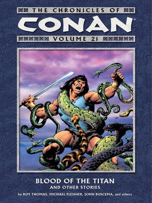cover image of Chronicles of Conan, Volume 21