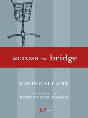 cover image of Across the Bridge