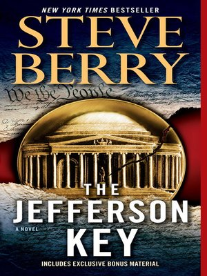 cover image of The Jefferson Key (with bonus short story the Devil's Gold)