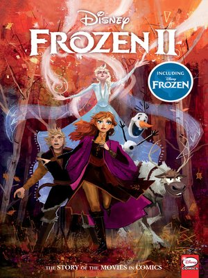 cover image of Disney Frozen and Frozen 2