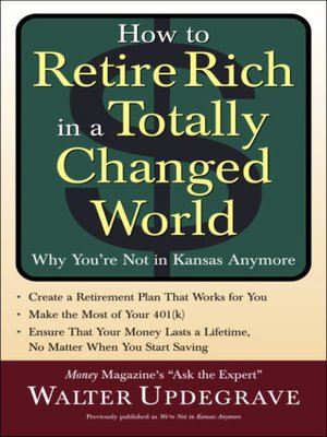 cover image of How to Retire Rich in a Totally Changed World