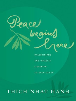 cover image of Peace Begins Here