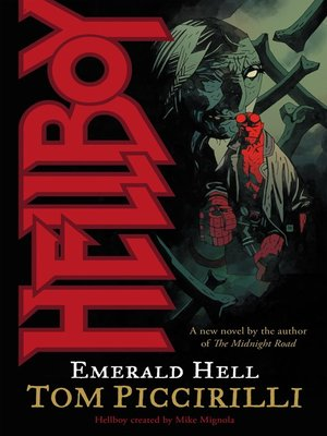 cover image of Hellboy: Emerald Hell
