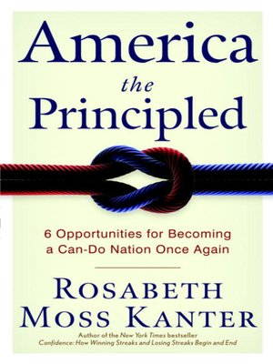 cover image of America the Principled