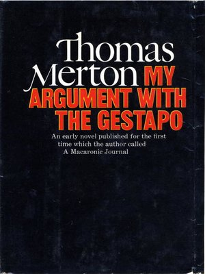 cover image of My Argument with the Gestapo