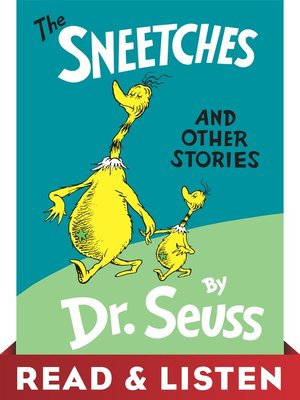 cover image of The Sneetches and Other Stories