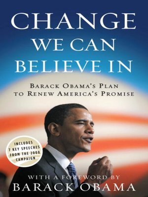 cover image of Change We Can Believe In