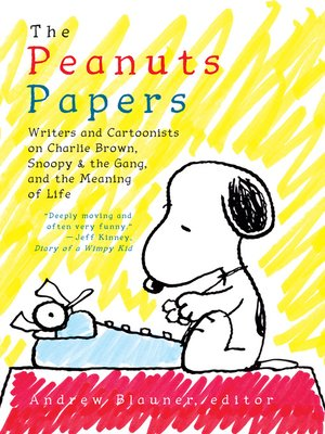 cover image of The Peanuts Papers