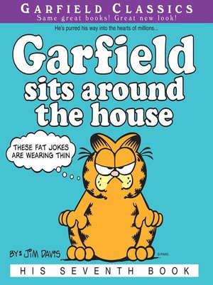 cover image of Garfield Sits Around the House