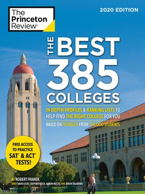 cover image of The Best 385 Colleges, 2020 Edition