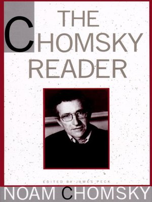 cover image of The Chomsky Reader