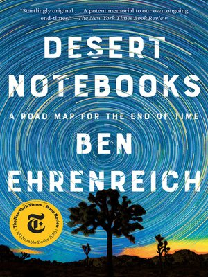 cover image of Desert Notebooks