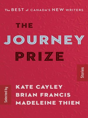 cover image of The Journey Prize Stories 28