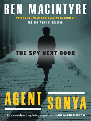 cover image of Agent Sonya