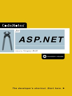 cover image of CodeNotes® for ASP.NET