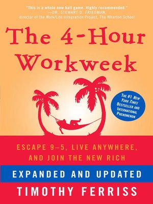 cover image of The 4-Hour Workweek, Expanded and Updated