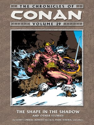 cover image of The Chronicles of Conan, Volume 29