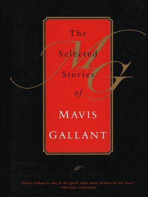 cover image of The Selected Stories of Mavis Gallant