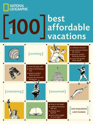 cover image of The 100 Best Affordable Vacations