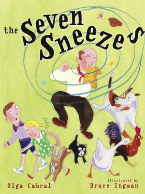 cover image of The Seven Sneezes