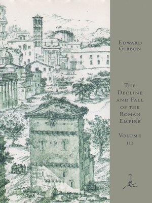 cover image of The Decline and Fall of the Roman Empire, Volume III