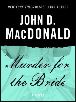 cover image of Murder for the Bride