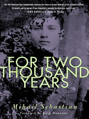 cover image of For Two Thousand Years