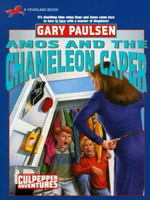 cover image of Amos and the Chameleon Caper