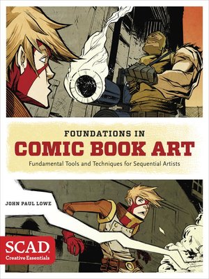 cover image of Foundations in Comic Book Art