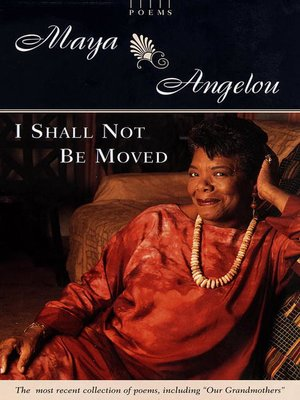 cover image of I Shall Not Be Moved