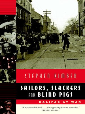 cover image of Sailors, Slackers, and Blind Pigs