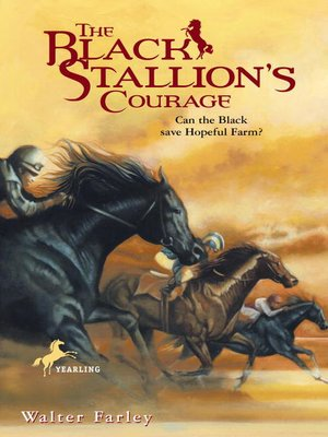 cover image of The Black Stallion's Courage