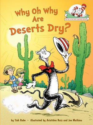cover image of Why Oh Why Are Deserts Dry?