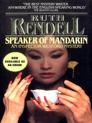 cover image of Speaker of Mandarin