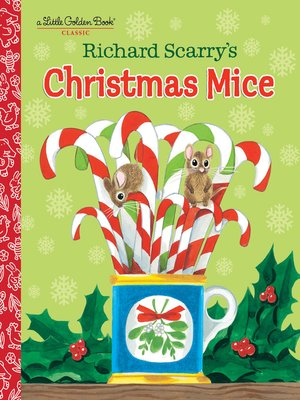 cover image of Richard Scarry's Christmas Mice