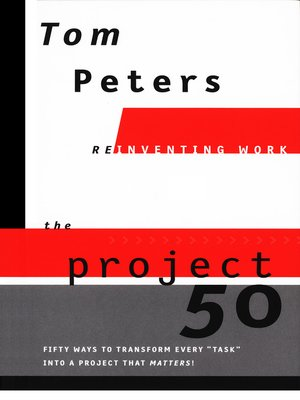 cover image of The Project 50 (Reinventing Work)