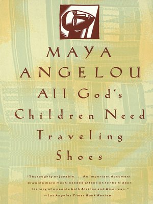 cover image of All God's Children Need Traveling Shoes