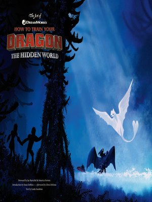cover image of The Art of How to Train Your Dragon: The Hidden World