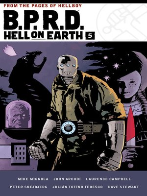 cover image of B.P.R.D. Hell on Earth Volume 5