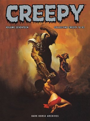 cover image of Creepy Archives, Volume 17